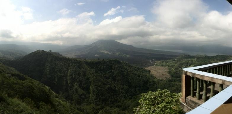Vistas terrazas Bali