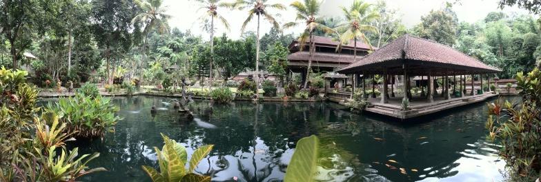 Panoramica templo Bali