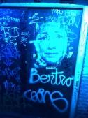 Graffitis azules