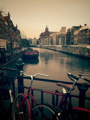 Canales en Amsterdam