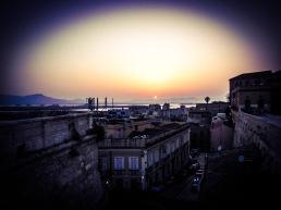 atardecer en Cagliari